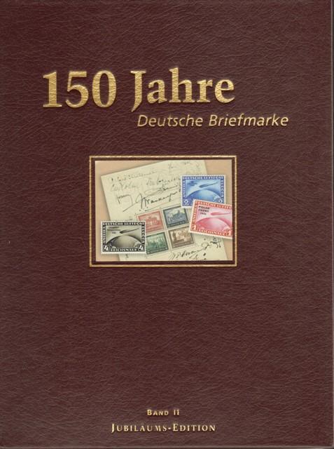 150 jahre deutsche briefmarke von deutsche post zvab. Black Bedroom Furniture Sets. Home Design Ideas