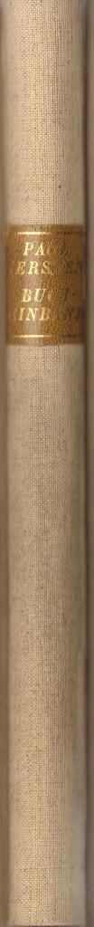 Der exakte Bucheinband. Der gute Halbfranzband. Der: Kersten, Paul,