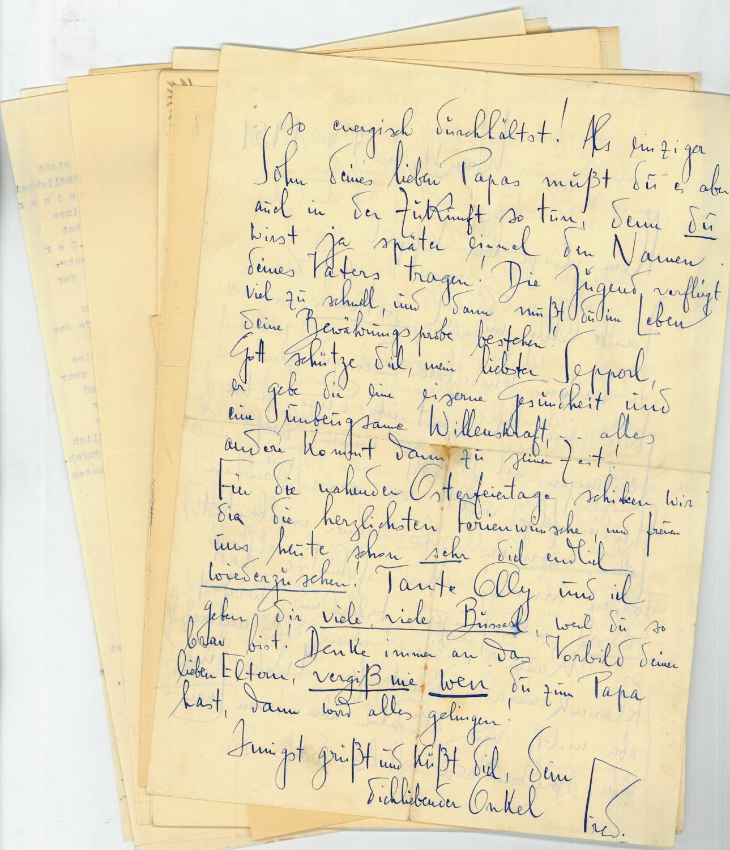 eigenh brief gedicht - ZVAB