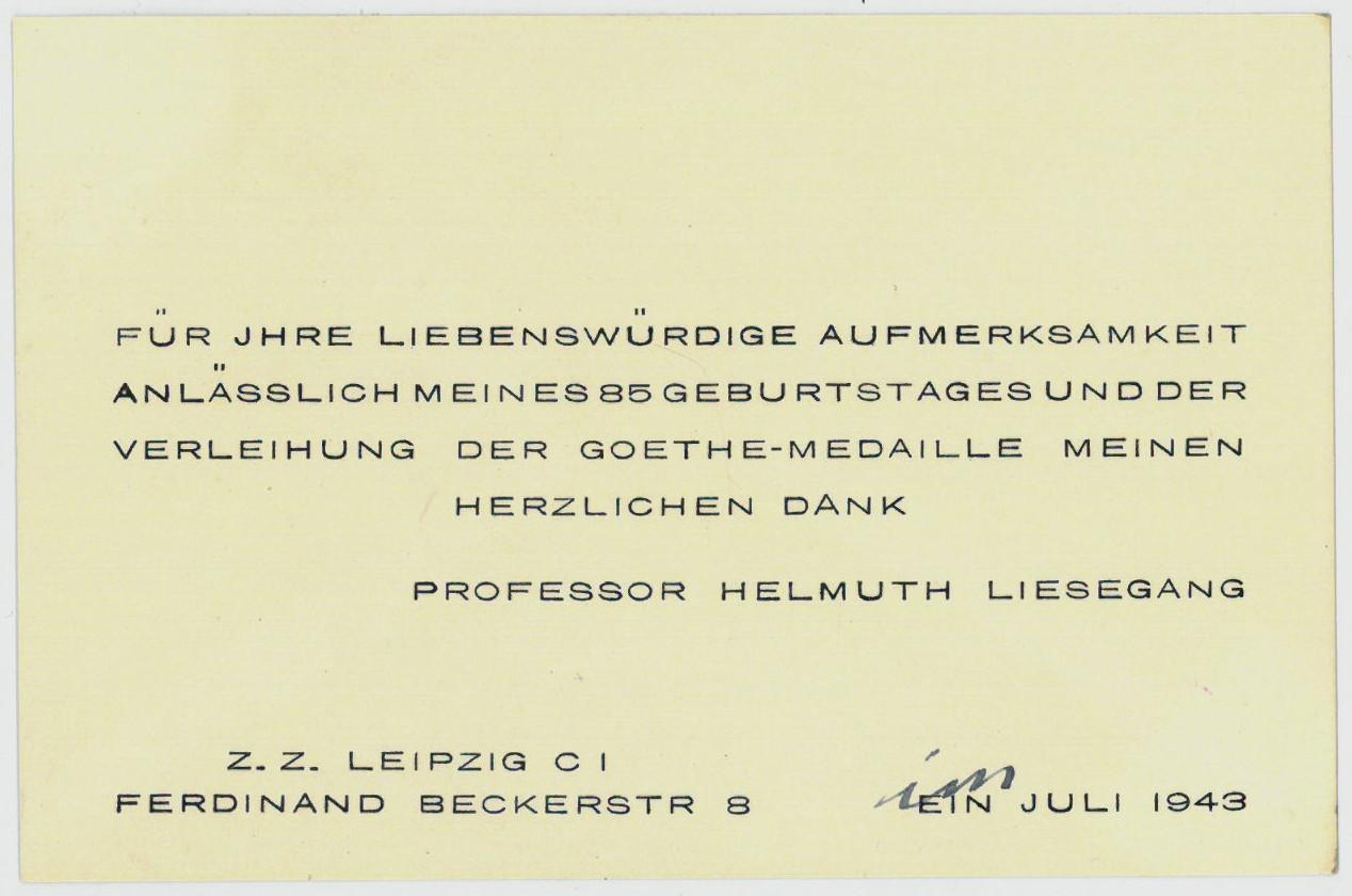 Helmuth Liesegang Zvab