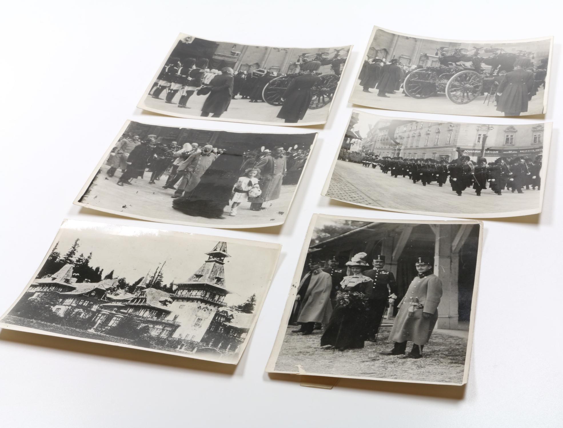Sammlung Von 6 Originalabzügen Von Pressefotografien Von Franz