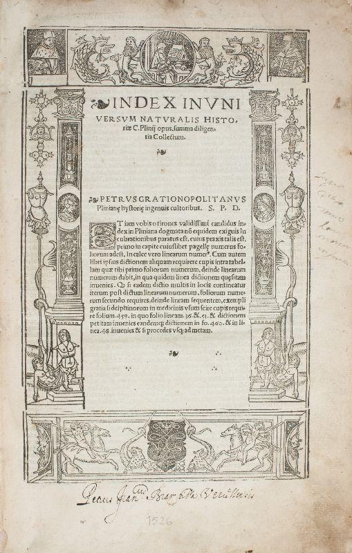 Opus divinum, cui titulus naturalis historiae, multoquam: Plinius Secundus, Gaius