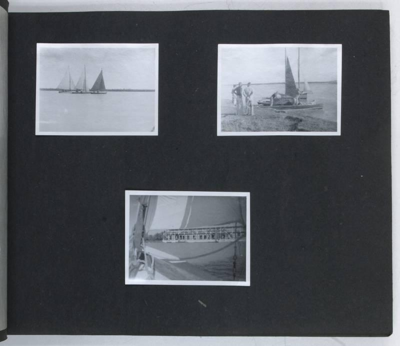 Two personal photograph albums relating to Catchpole's: Persian Oil Exploration].