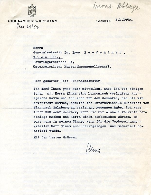 Briefe Mit Nachnahme : Eigenh briefe von klaus zvab