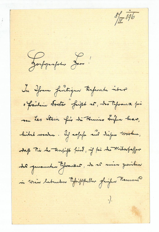 Stein Alfred Manuskripte Papierantiquitäten Zvab