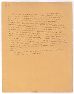 """Prièrere"""". Manuscrit autographe.: Saint-Exupéry, Antoine de,"""