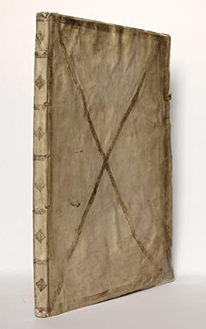 Dedication manuscript for Emperor Ferdinand I, written by the provost of a Landsknecht army who f...