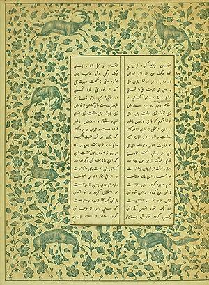 Mahmud Schebisteri's Rosenflor des Geheimnisses. Persisch und: Hammer-Purgstall, [Joseph von,