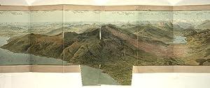 Panorama prise au Sommet du Mont Rigi.: Keller, Heinrich.