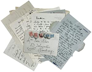 21 autograph letters (17), lettercards (1) and: Puccini, Giacomo, Italian