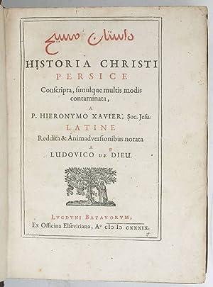 Dastan-i Masi]. Historia Christi Persice conscripta, simulque: Dieu, Lodewijk de