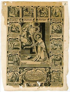 Sanctus Iacinctus Polonus. De familia comitum Odrouos,: Hl. Hyacinth.] Baron,
