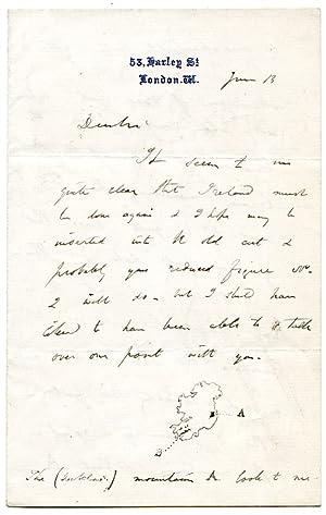 "Autograph letter signed (""Cha Lyell"").: Lyell, Charles, British"