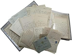 Large collection of autograph letters and manuscripts: Mannerheim, Carl Gustav