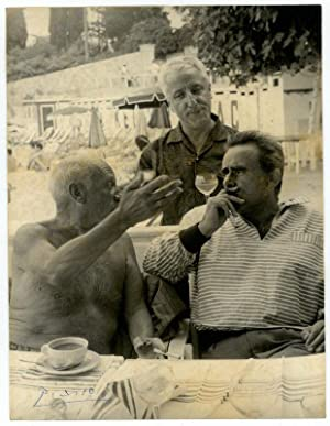 Photograph signed.: Picasso, Pablo, Spanish