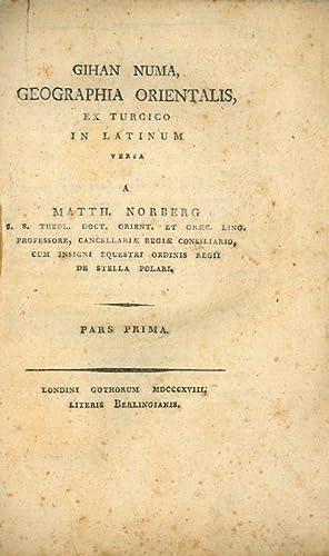 Gihan Numa, geographia orientalis, ex Turcico in: Katib Chelebi (Haji