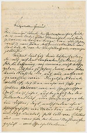 "Autograph letter signed (""Hermann"").: Marx, Karl]. -"