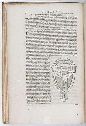Kitab al-Manazir, latine]. Opticae thesaurus. Alhazeni Arabis: Ibn al-Haytham, Abu