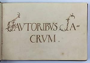 Friendship album of Johann Hotze, comprising entries: Album amicorum]. -