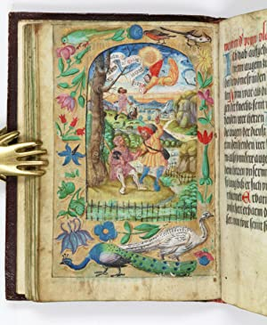 The prayer book of Anna Maria Countess of Fürstenberg, german manuscript on vellum, illuminated b...