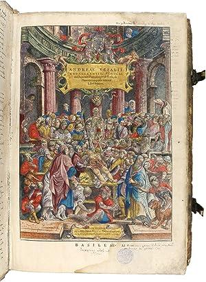 De humani corporis fabrica libri septem.: Vesalius, Andreas.