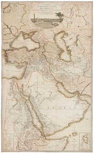 Carte du théâtre de la Guerre en: Chanlaire, Pierre Gregoire