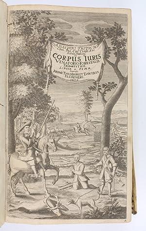Corpus juris venatorio-forestalis, tripartitum.: Fritsch, Ahasver.