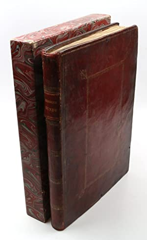 A 20th century collector's privately compiled scrapbook of engravings, etchings, drawings, and wa...