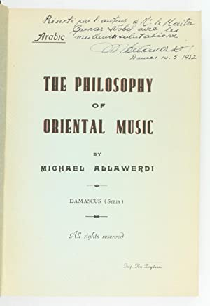 Falsafat al-musiqa al-Sharqiyah. The Philosophy of Oriental: Allawerdi, Michael (Allah