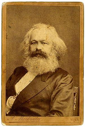 Portrait photograph.: Marx, Karl, philosopher