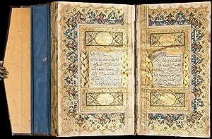 A splendid illuminated Qur'an manuscript.: Quran.