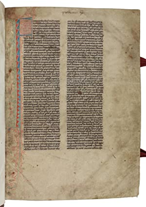 Latin manuscript on vellum.