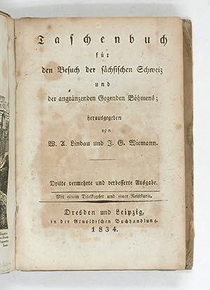 Taschenbuch für den Besuch der sächsischen Schweiz: Lindau, Wilhelm Adolf
