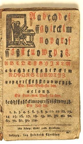 Aabcchdef.: Alphabet primer].