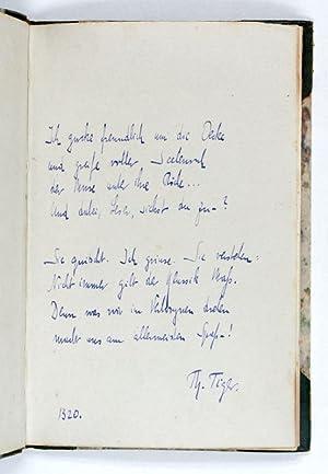 Fromme Gesänge von Theobald Tiger. Mit einer: Tucholsky, Kurt, German