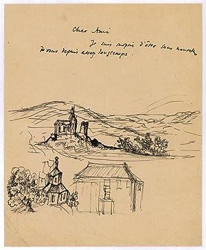Autograph letter.: Balthus (i. e.