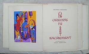 Le Carosse du Saint-Sacrement.: AMBROGIANI (Pierre)] MERIMEE (Prosper) :