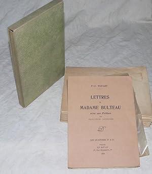 Lettres à Madame Bulteau.: TOULET (P.-J.) :