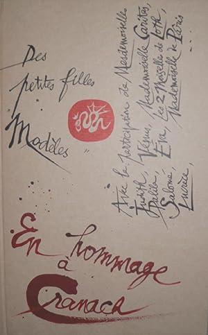 Des Petites Filles Modèles, en Hommage à Cranach.: TREMOIS (Pierre -Yves)] :