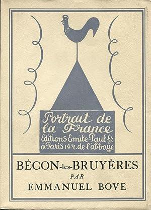 Bécon-les-Bruyères.: UTRILLO (Maurice)] BOVE