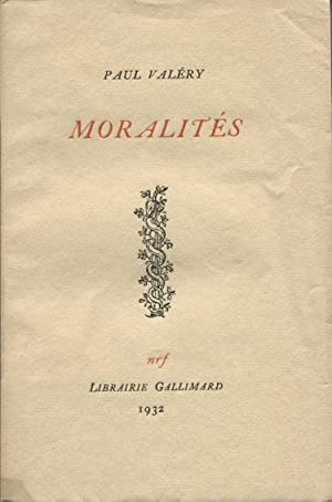 Moralités.: VALERY (Paul) :