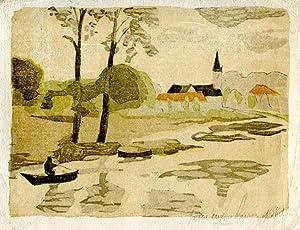Ensemble de 4 lithographies originales en couleurs.: CLAIRIN (PIerre-Eug�ne)] :