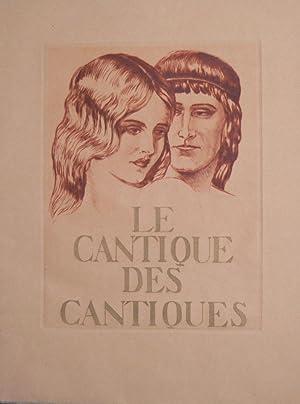 La Cantique des Cantiques.: COURBOULEIX (Léon)] :