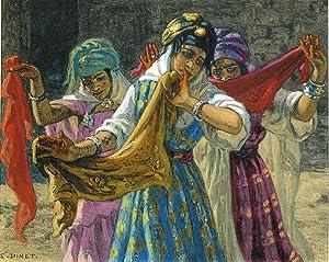Kadra, Danseuse Ouled Nail.: DINET (Etienne)] SLIMAN BEN IBRAHIM :