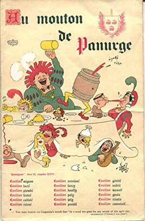 Au Mouton de Panurge.: DUBOUT (Albert)] :