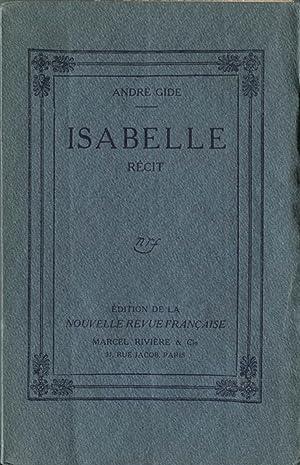 Isabelle.: GIDE (André) :