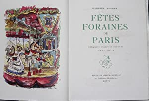 Fêtes Foraines de Paris.: GRAU SALA (Emilio)]MOUREY :