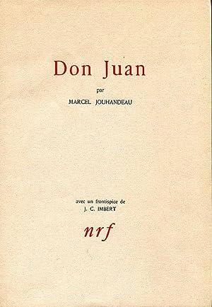 Don Juan.: JOUHANDEAU (Marcel) :