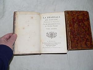 La Pharsale de Lucain.: MARMONTEL :