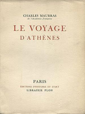 Le Voyage d'Athènes.: MAURRAS (Charles) :